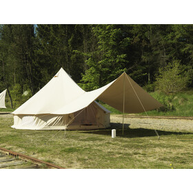 Nordisk Asgard 19.6 m² - Tente - Technical Cotton beige